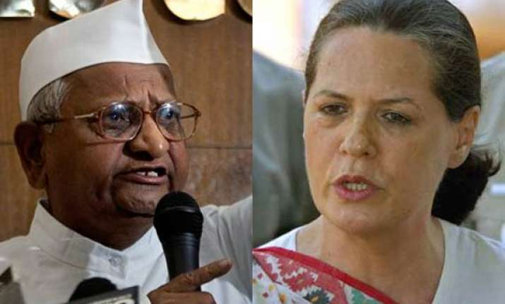 sonia told hazare will convey your views to govt