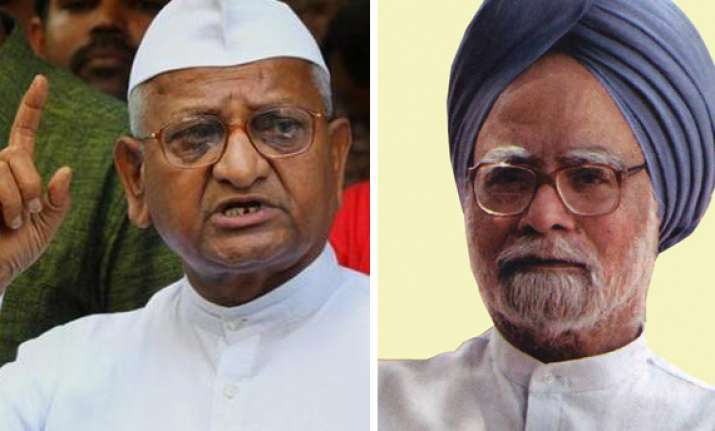 anna promises to work with cong if govt creates strong