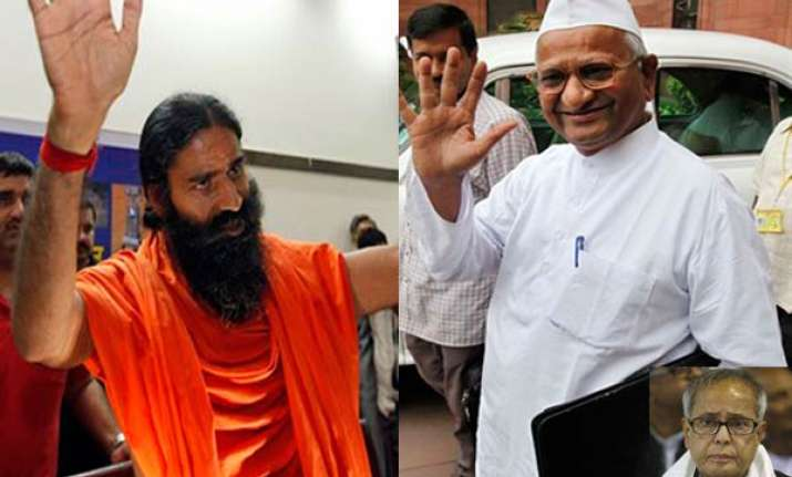 anna ramdev are self appointed messiahs says pranab
