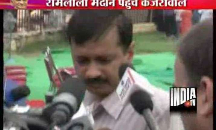 anna s 15 day fast may go beyond the period arvind kejriwal
