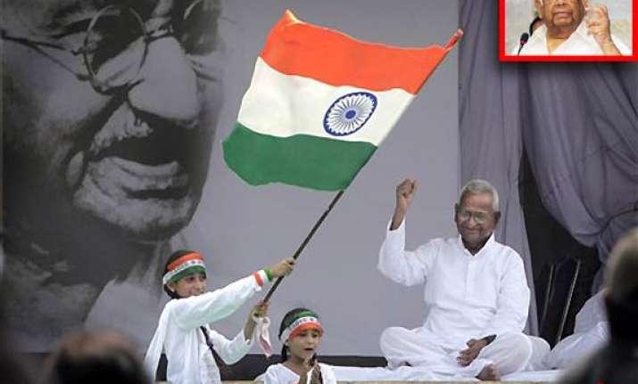 anna s movement anti democratic to the core somnath