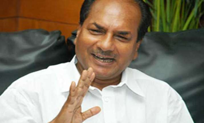 antony orders cbi probe in bribe charges in aircraft eng