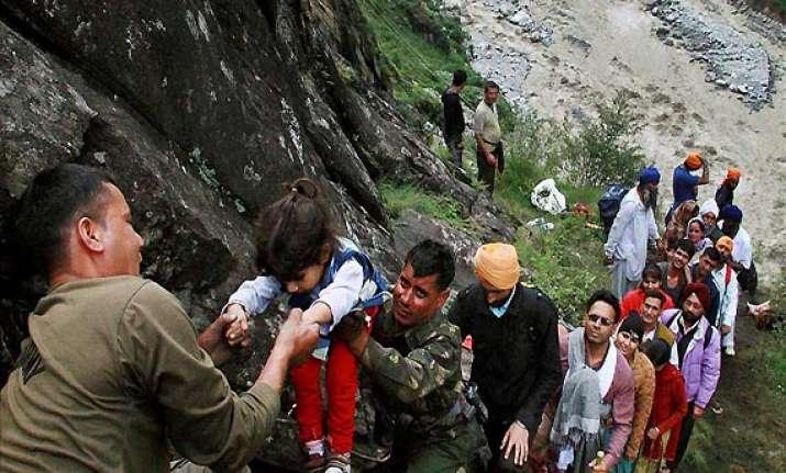 anxious relatives of uttarakhand pilgrims flood india tv