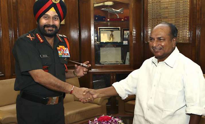 army chief meets antony discusses keran operations