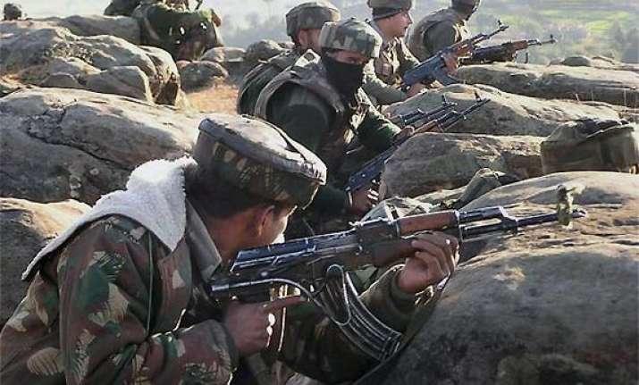 army jco killed in heavy pak firing in poonch sector
