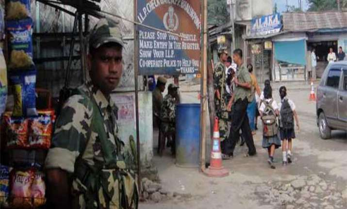 army briefs govt on military options on chinese intrusion