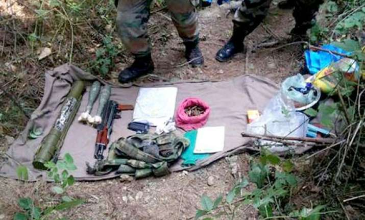 army recovers huge cache of arms ammunition in keran