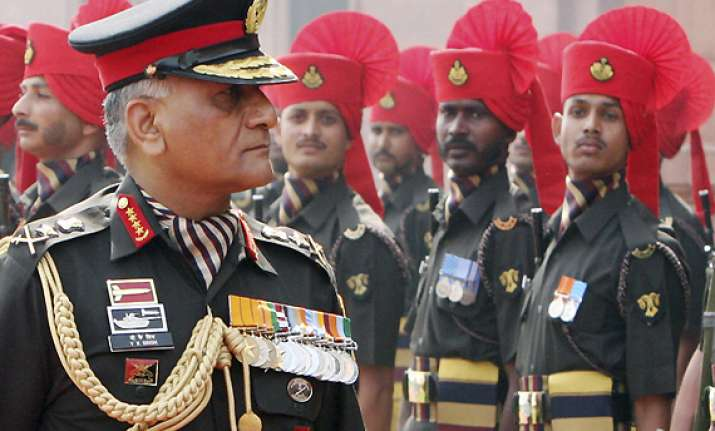 army chief is trying to clean the organisation says ex