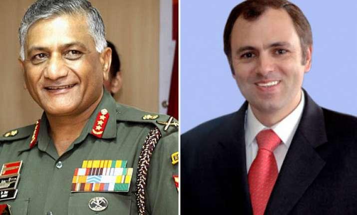 army chief meets omar