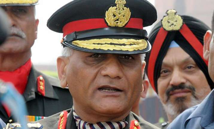 army chief rules out resignation