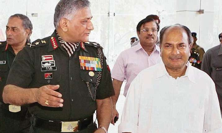 army chief to meet defence minister discuss procurement