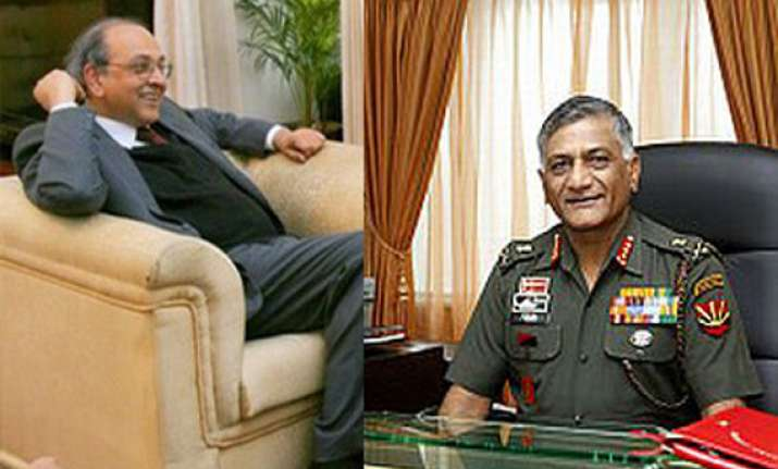 army chief s age row was settled 2 years ago says former