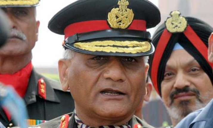 army chief s age issue settle to retire next year