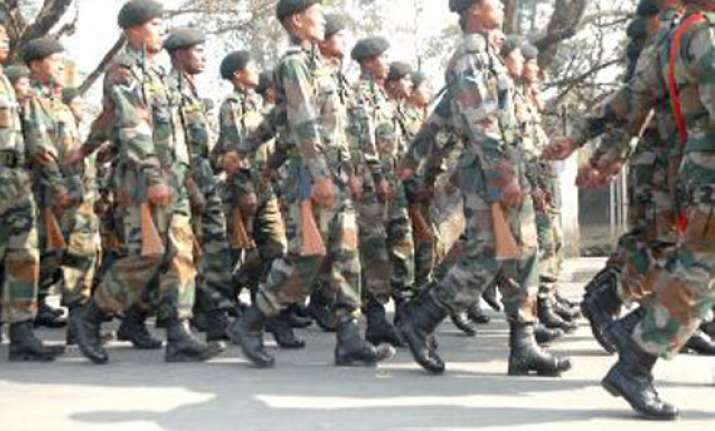 army flag march in kokrajhar