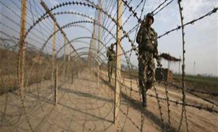 army hopes to restart work on damaged border fence on loc