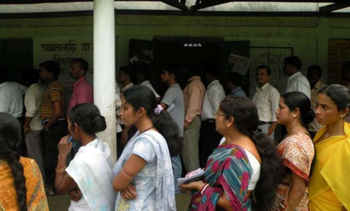 around 3 000 polling stations declared critical in assam