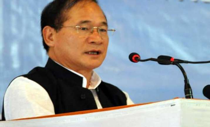 arunachal pradesh chief minister urges government to act on