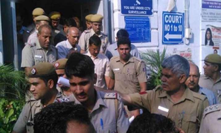 arvind kejriwal sent to 2 days judicial custody in tihar