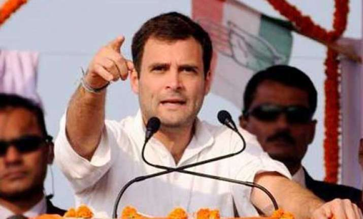 as electioneering reaches its crescendo rahul tears into