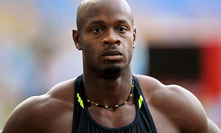 asafa powell to face usain bolt in 100 meter showdown