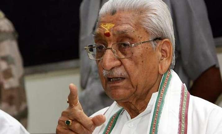 ashok singhal under house arrest