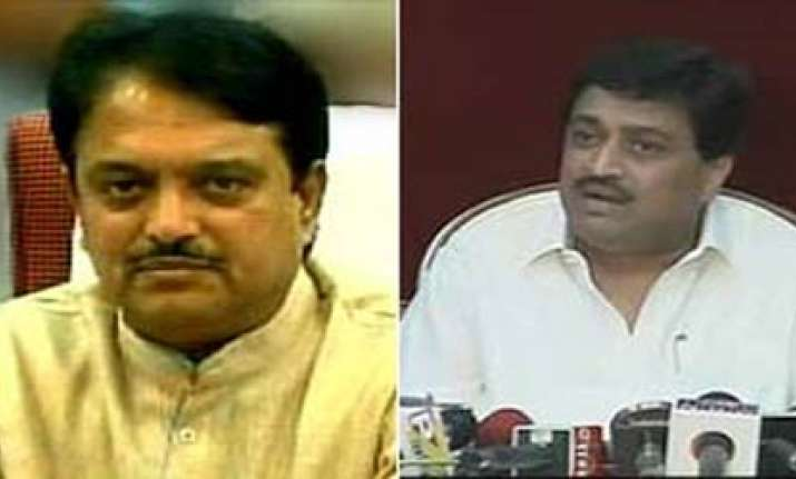 ashok chavan puts onus on vilasrao for adarsh land allotment