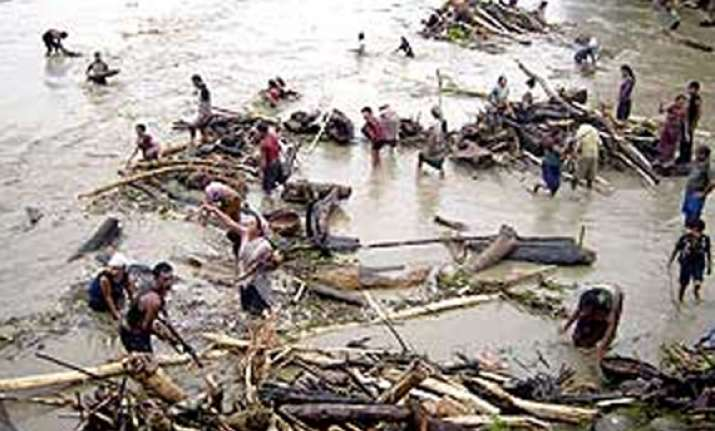 assam flood situation turns worse