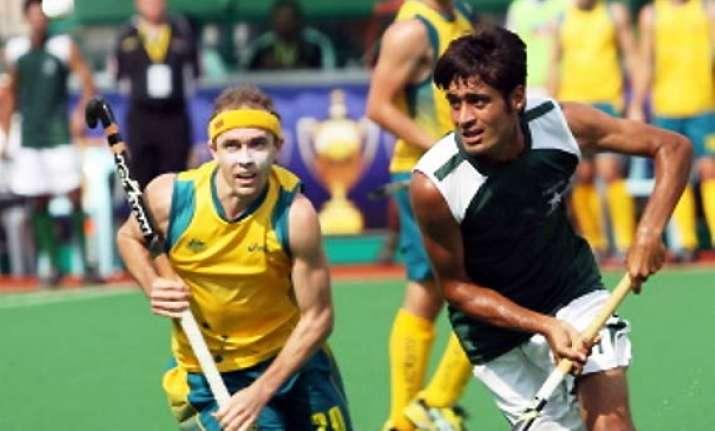 australia thrash pakistan 6 1 in champions hockey