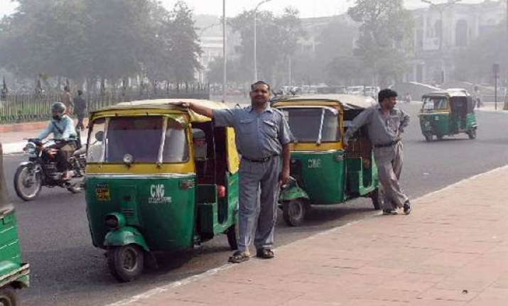 auto strike in delhi from wednesday
