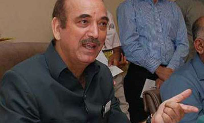 azad to hold additional charge of water resource ministry