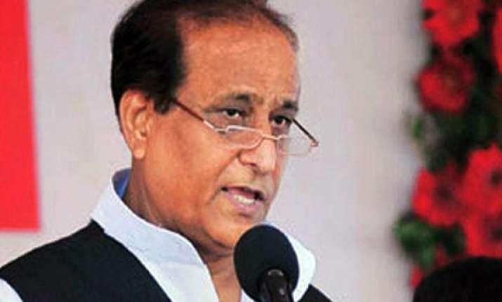 azam khan booked for hate speech in shamli