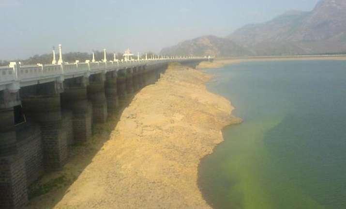azhiyar dam one foot short of reaching 120 feet capacity