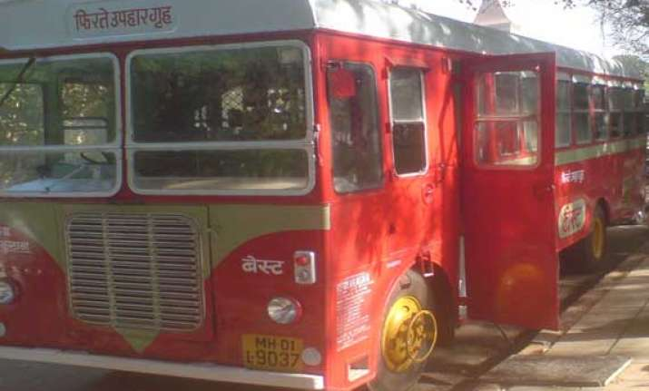 best bus conductors drivers go on mass leave mumbai bus
