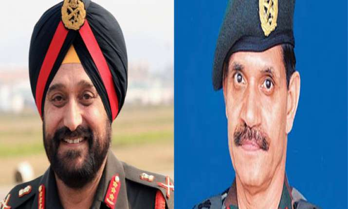 bjp cautions govt on appointing army chief before may 16