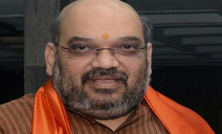 2 firs against amit shah for revenge speech under ec