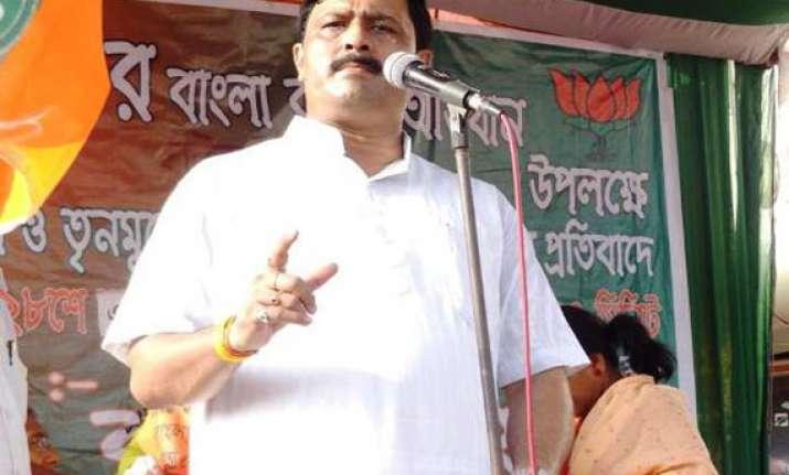 bjp mocks at tmc s landslide win in bengal