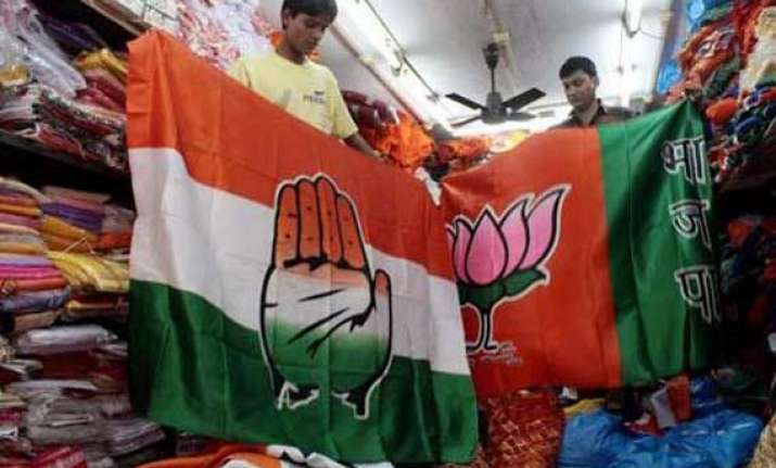 bjp to crush congress in battle for india say exit polls