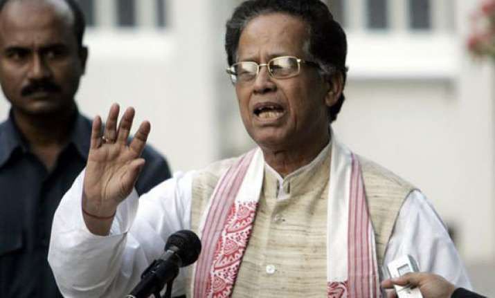 bjp wins 7 congress 3 gogoi offers to resign