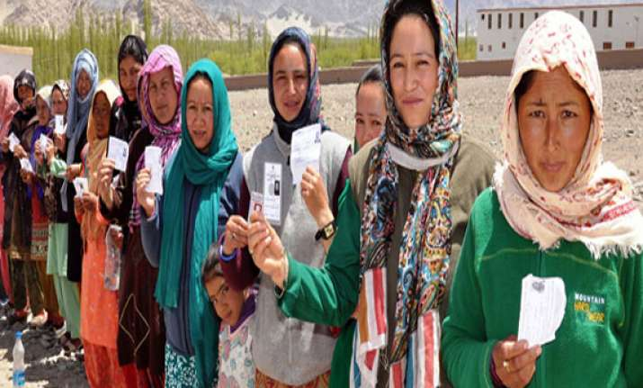bjp wins from ladakh ls seat