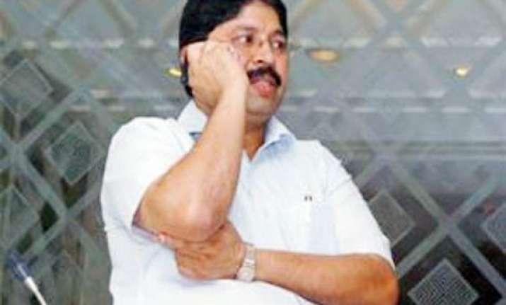 bjp aiadmk demand dayanidhi maran s resignation