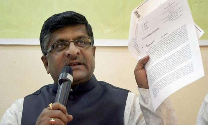 bjp asks pm to restore balance between army mod