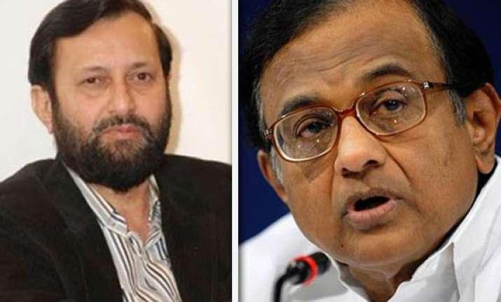 bjp demands chidambaram s resignation