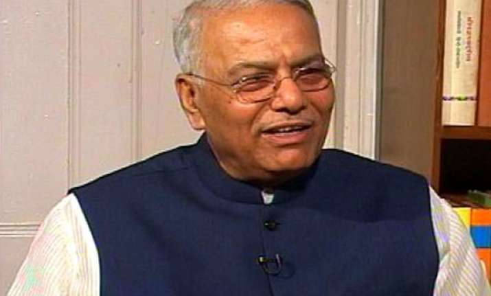 bjp is 70 pure still party with a difference yashwant sinha