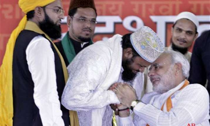 8f682872188 bjp leaders ask muslims to wear skull caps burqas to attend