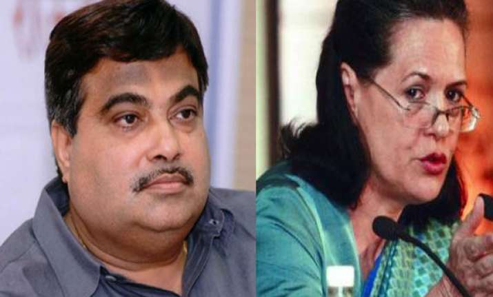 bjp says it s proud of gadkari s remark on sonia