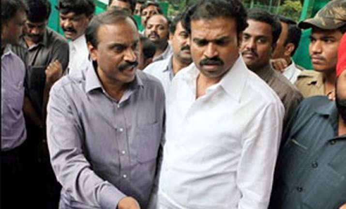 bjp suspends two karnataka mps sends tough message to reddy