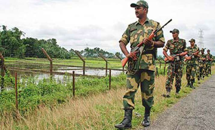 bsf allowed to construct barbed wire fencing on bangla