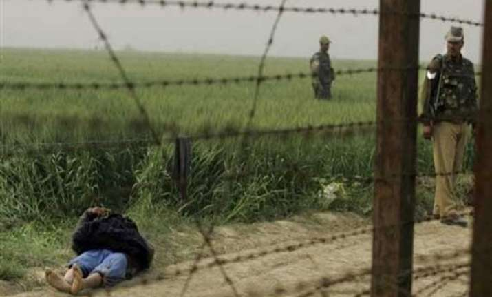 bsf kills pakistani intruder near amritsar