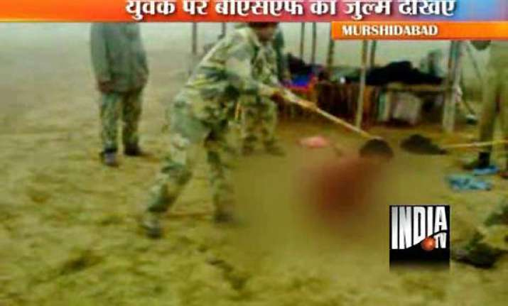 bsf orders court martial against 8 men in assault video case