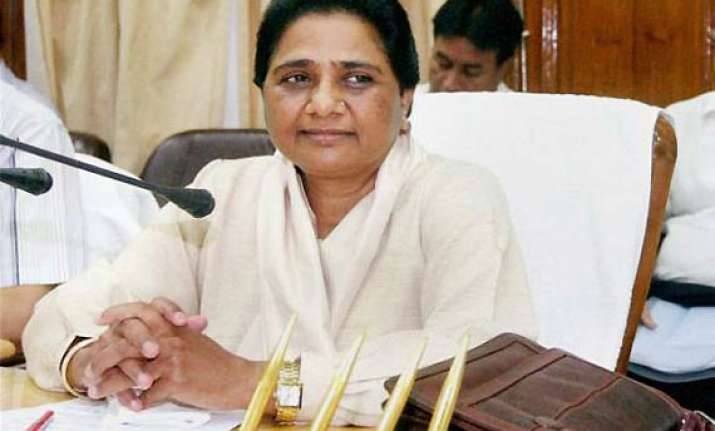 bsp mp kicks up a row on mayawati s poll tactics